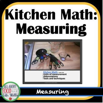 Kitchen Math Lesson
