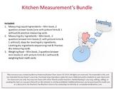 Kitchen Measurements Bundle