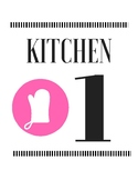 Kitchen Number Signs