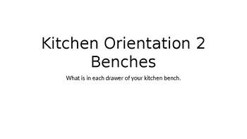 Kitchen Orientation 2 Benches