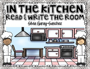 Kitchen Read and Write the Room Center
