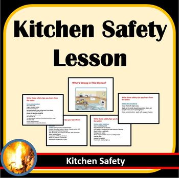 Kitchen Safety Lesson- I Need A Lesson For Today!