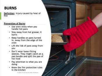 Kitchen Safety Lesson