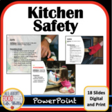 Kitchen Safety Lesson! FACS, Science, Life Skills, Special Ed