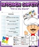 Kitchen Safety Rules Activity