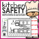Kitchen Safety Worksheets and Activities Pack