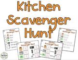 Kitchen Scavenger Hunt Activity Pack - Beginner