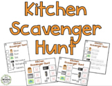 Kitchen Scavenger Hunt Activity Pack - Beginner