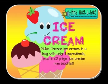 Kitchen Science Bundle {Bubble blowing, Ice Cream making and Kitchen Science}