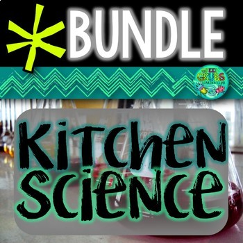 Kitchen Science Bundle {Bubble blowing, Ice Cream making a