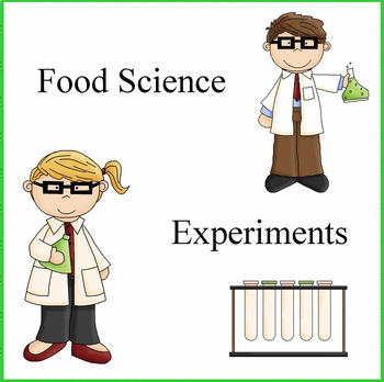 Kids Cooking-Kitchen Science Experiments