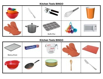 Kitchen Tool BINGO
