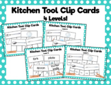 Kitchen Tool Clip Cards