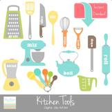 Kitchen Tools Digital clip Art Set