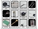 Kitchen Tools File Folder Task for Autism