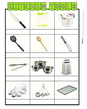 Kitchen Tools - Large PIctures