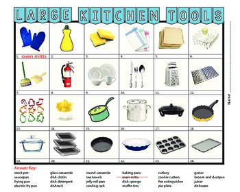Larger Kitchen Tools