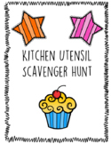 Kitchen Utensil Scavenger Hunt