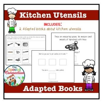 #christmasinjuly Kitchen Utensils: Adapted Books