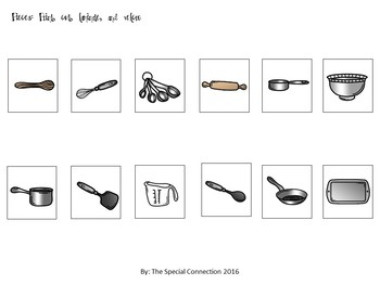 Kitchen Utensils: File Folders