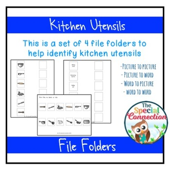 Kitchen Utensils: File Folders