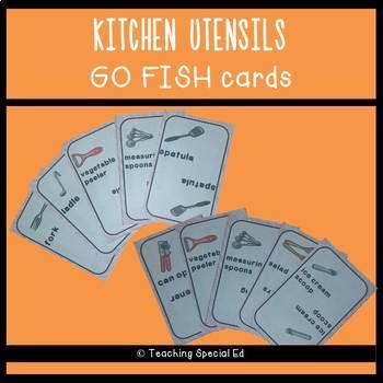 Kitchen Utensils Go Fish