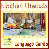 Kitchen Utensils - Montessori Classified Cards