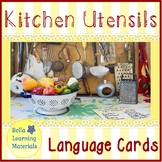 Kitchen Utensils - Montessori Classified Cards