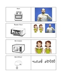 Kitchen Vocabulary Cards