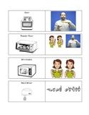 Kitchen Vocabulary Cards