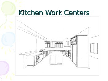 Kitchen Work Spaces Power Point