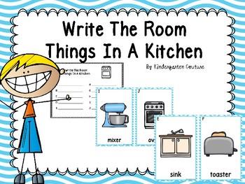 Kitchen Write The Room