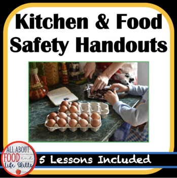 Kitchen and Food Safety Unit Lessons, FACS FCS