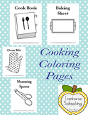 Kitchen coloring pages