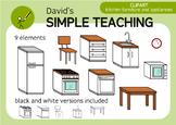 Kitchen furniture and appliances - Muebles y electrodomésticos de cocina