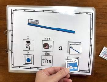 Kitchen or Bathroom? An Adaptive and Interactive Book About Household Objects