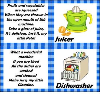 Kitchen riddles.
