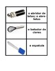 Kitchen utensils in Portuguese Concentration games