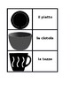 Kitchen utensils in Italian Concentration games