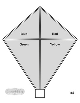 Kite Activity (for Matching & Scissor Skills)