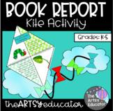Kite Book Report Spring Craftivity!