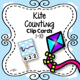 Kite Clip Card Counting 1-10