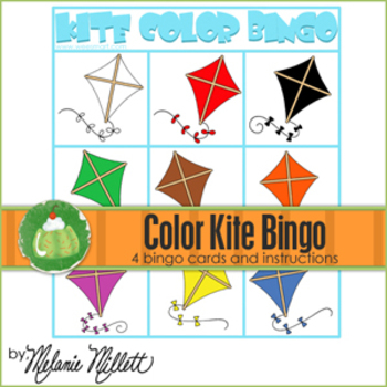 Kite Color Bingo Game