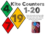 Kite Counters 1-20