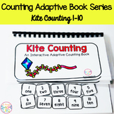 Kite Counting Adaptive Book (#1-10)