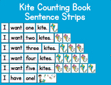 Kite Counting Book Emergent Reader Sentence Strip Pocket Chart Activity