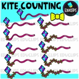 Kite Counting Clip Art Bundle  {Educlips Clipart}