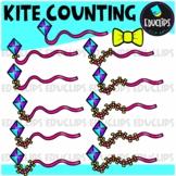 Kite Counting Clip Art Bundle  {Educlips Clipart}