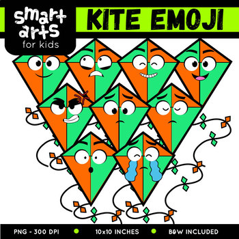 Kite Emoji Clip Art