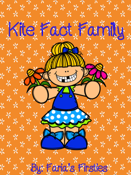 Kite Fact Family Craft and Worksheet